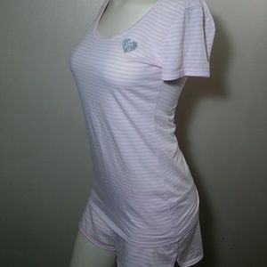 Victorias Secret 2 Piece Pajama Shorts & T Small